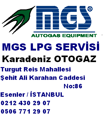 MGS LPG SERVİSİ İSTANBUL ESENLER